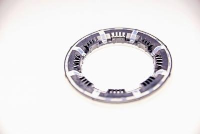 Part Name: Strut Guidance Ring 2 Shot <br>Tool Info: Prototype Mold<br>Resin: Nylon/TPE