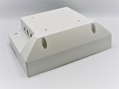 Part Name: Cover <br>Tool Info: Aluminum Production Mold <br>Resin: ABS
