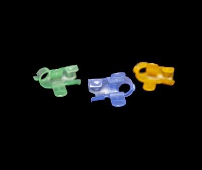Part Name: Medical Finger Clips<br>Tool Info: R&D<br>Resin: PP
