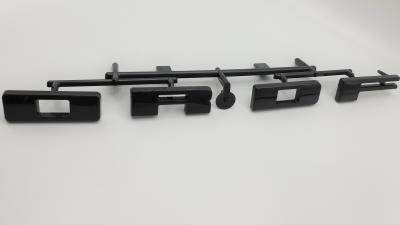 Part Name: FORD Heritage Letters<br>Tool Info: 1 Cav P20 Mold H13 Insert<br>Resin: ABS